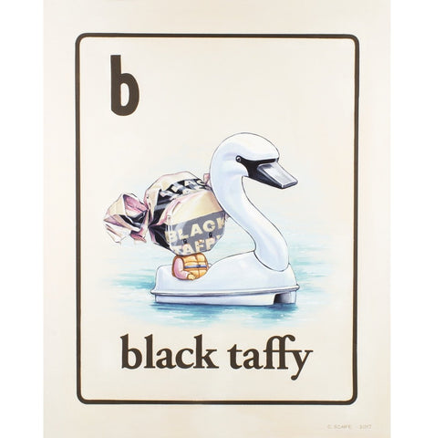 Black Taffy by Cindy Scaife