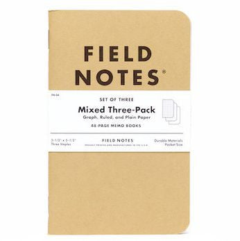 Field Notes Kraft 3-Packs - Your Choice