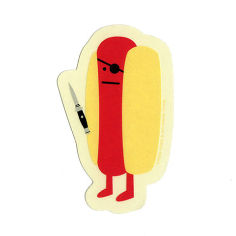Diabolical Hot Dog - Nerfect Sticker