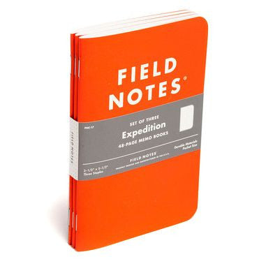 Field Notes Expedition 3-Pack