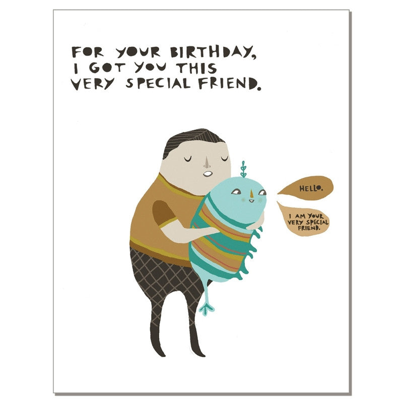 Special Birthday Friend Greeting Card