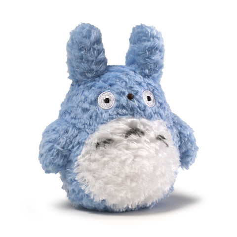 Fluffy Blue Totoro Plush - 5.5 Inches