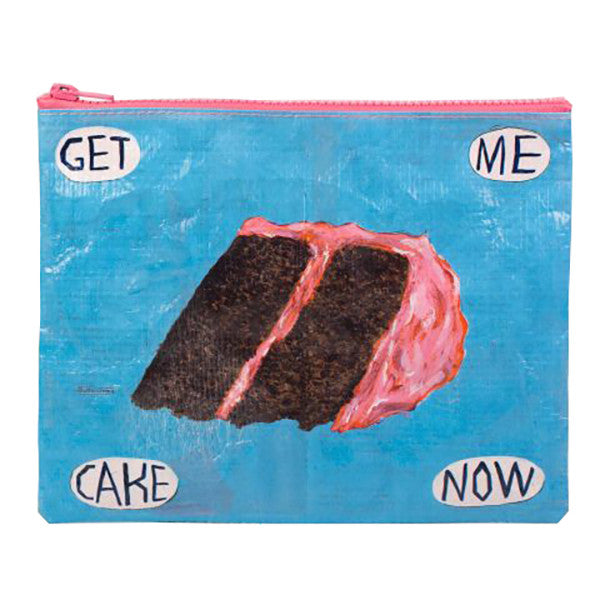 Get Me Cake Now Zipper Pouch