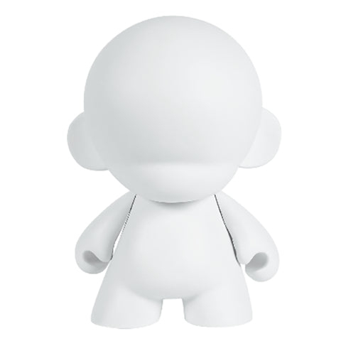 White Reusable Munny - 7 Inches