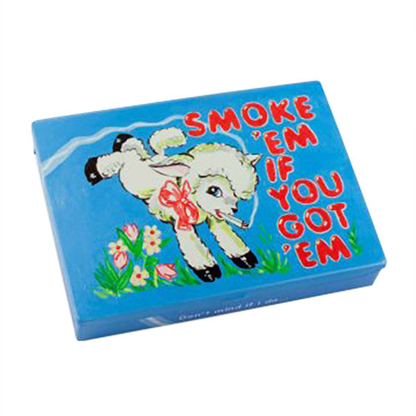 Smoke 'Em If You Got 'Em - Tin Pocket Box