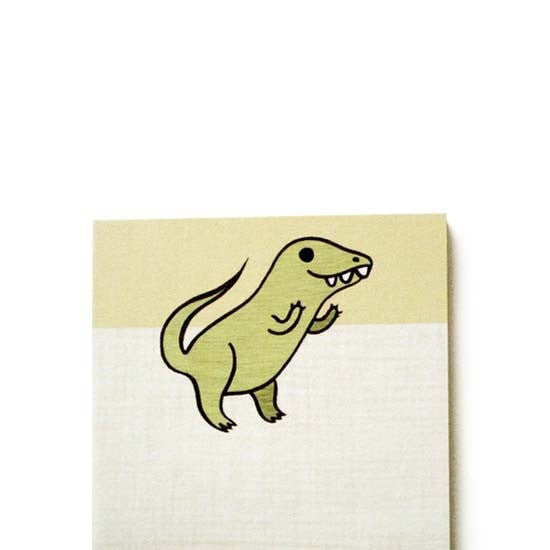 T-Rex Notepad by boygirlparty