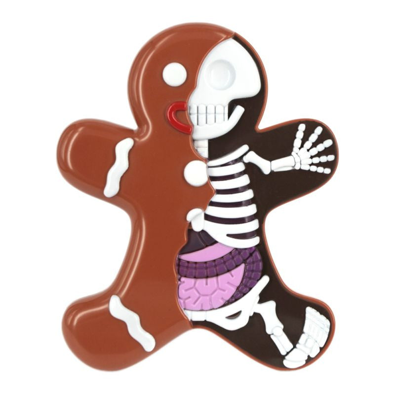 Jason Freeny's Dissected Gingerbread Man