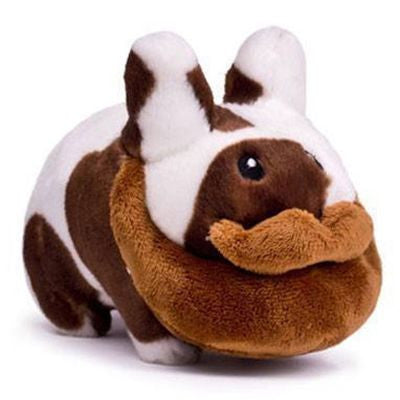 Plush Cow Beard Labbit - 7 inch