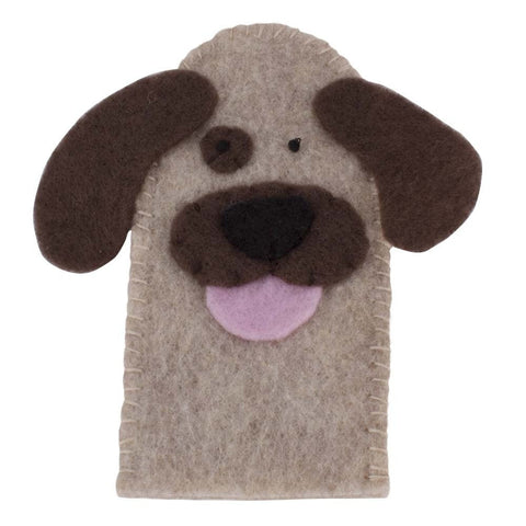 Dog Finger Puppet