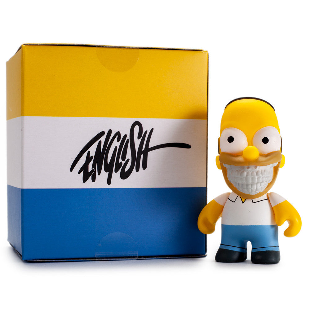 Homer Grin by Ron English - The Simpsons Mini Figure