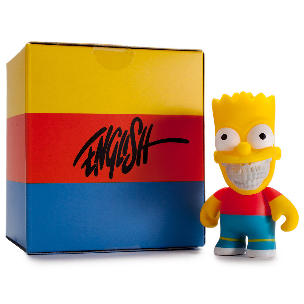 Bart Grin by Ron English - The Simpsons Mini Figure