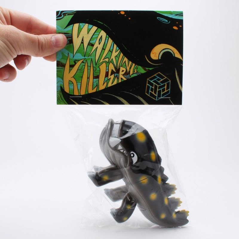 Walking Killer - Black & Silver with Yellow Spots