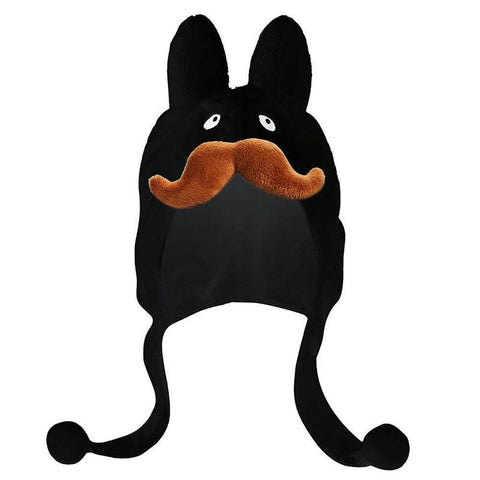 Black Stache Labbit Hat