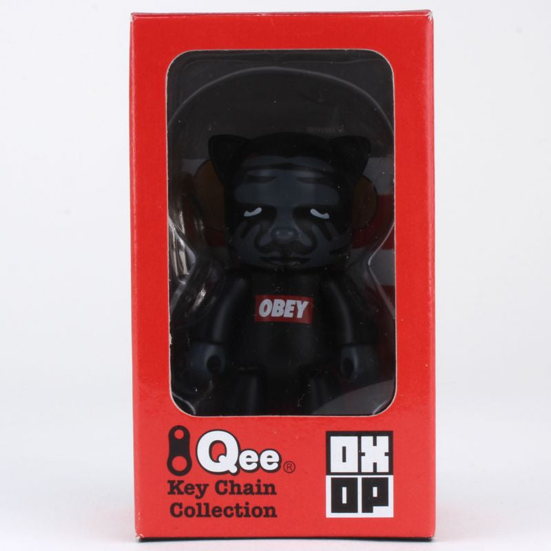 OBEY CatQee by Shepard Fairey -  OXOP Series 1 Qee Keychain