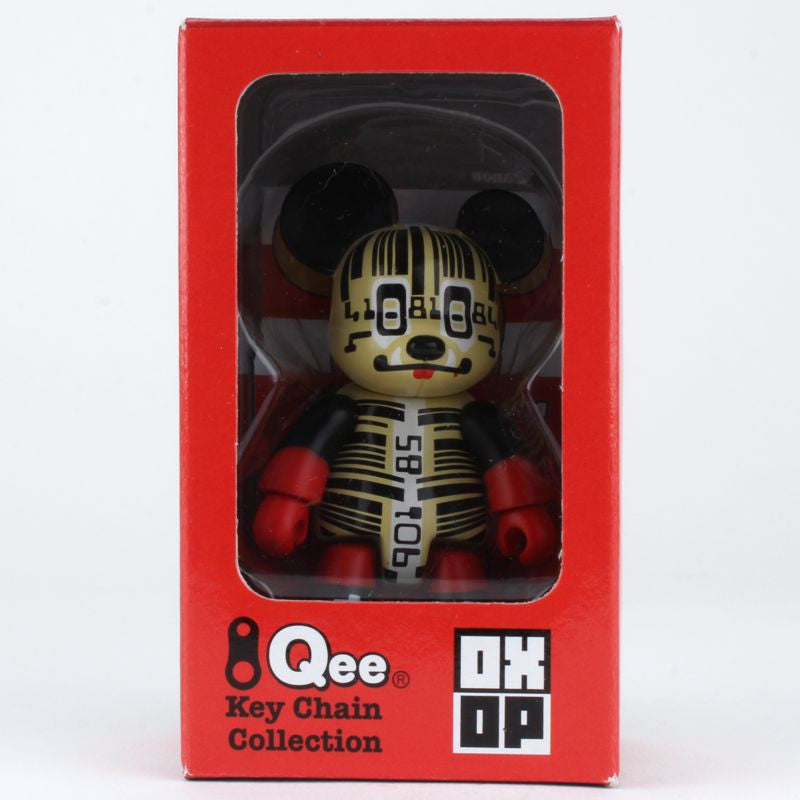 Barcode BearQee by CSA Design - OXOP Series 1 Qee Keychain