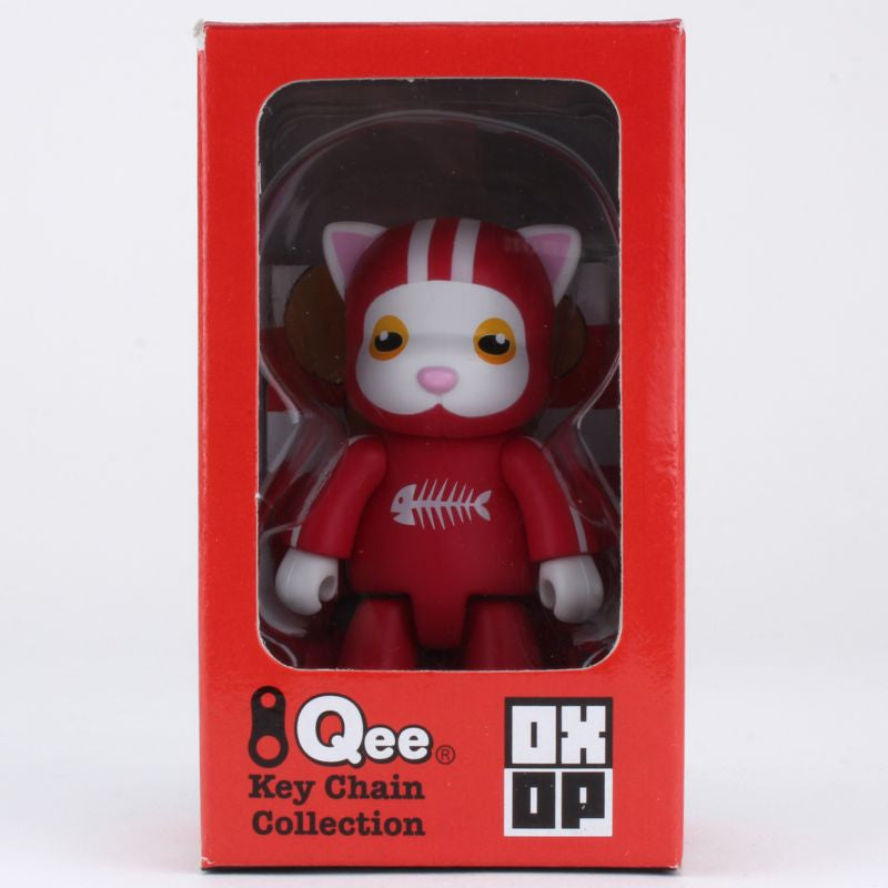 Derby CatQee by Meomi  - OXOP Series 1 Qee Keychain
