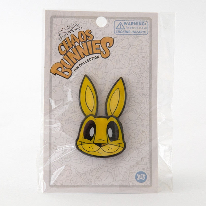 JLed Metal Lapel Pin - Mr Bunny