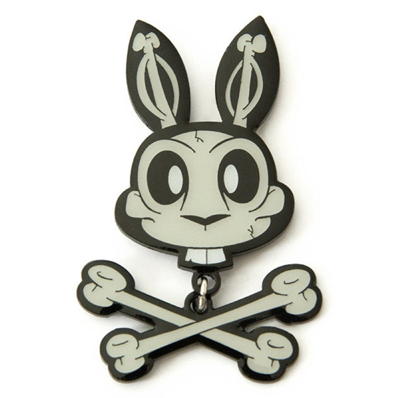 JLed Metal Lapel Pin - Jolly Roger