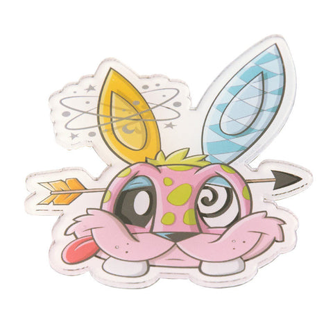 JLed Acrylic Magnet - Funny Bunny