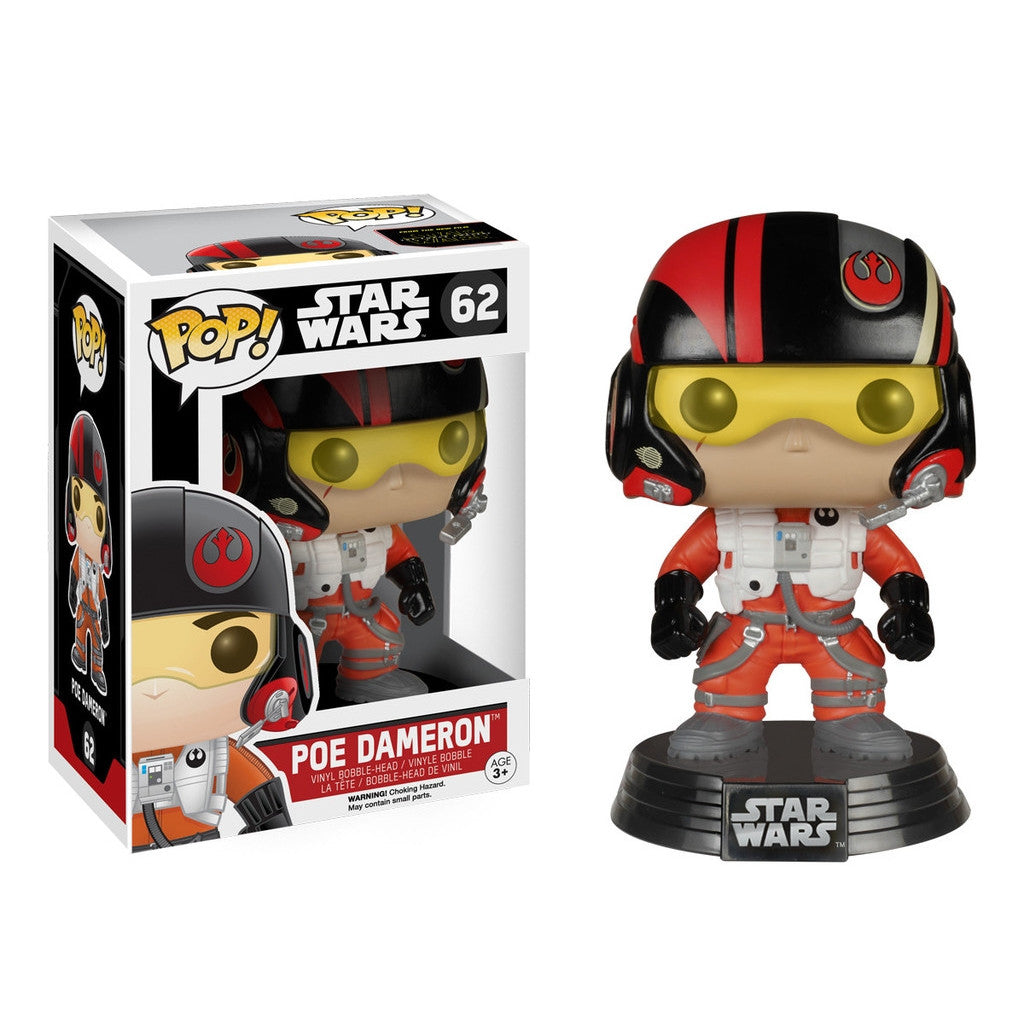 Poe Dameron - POP! Star Wars Episode 7 - Bobble