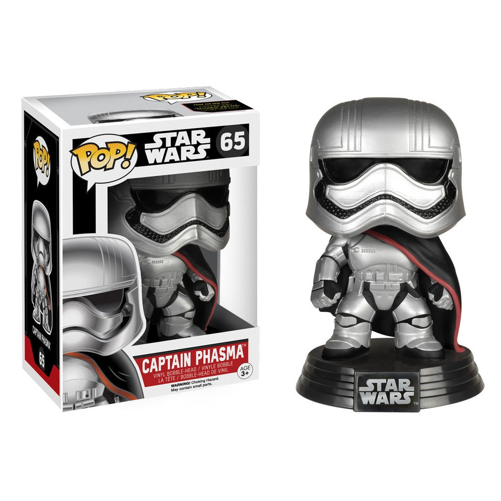 Captain Phasma - POP! Star Wars Episode 7 - Bobble