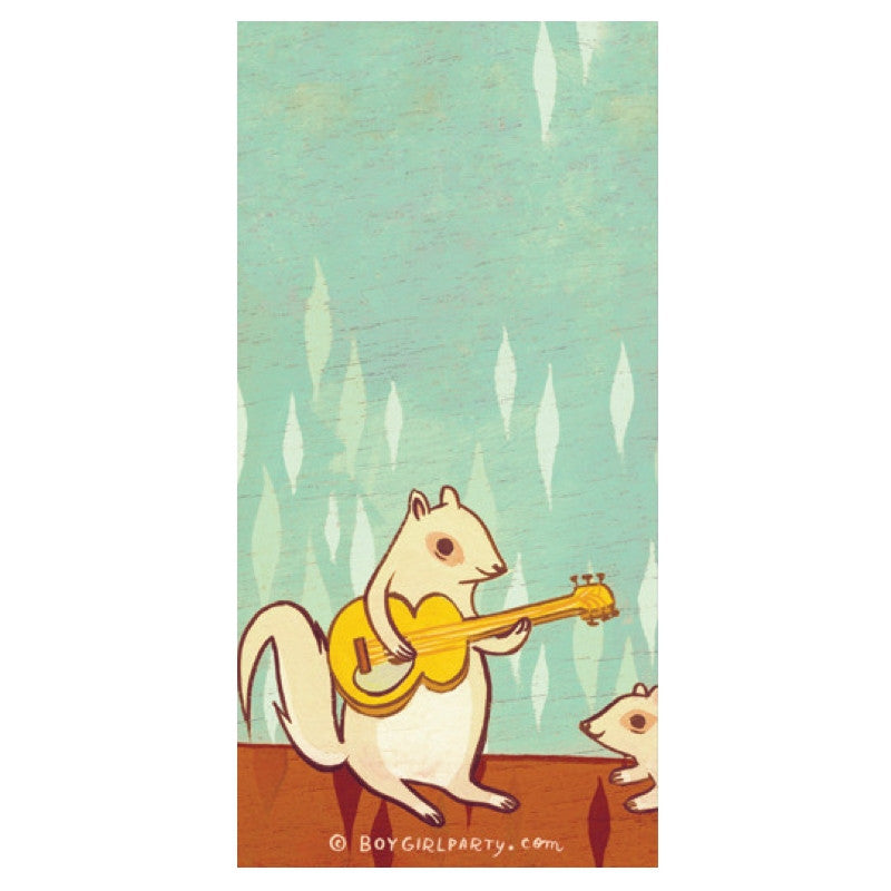 Squirrel Notepad by boygirlparty