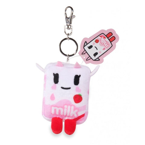 Strawberry Milk - Tokidoki Plush Keychain