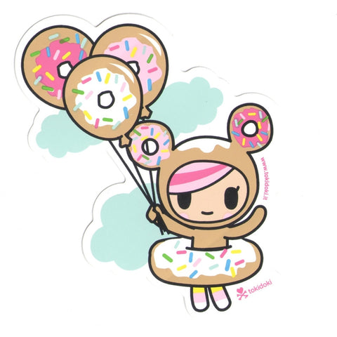 Donutella Balloon - tokidoki Sticker