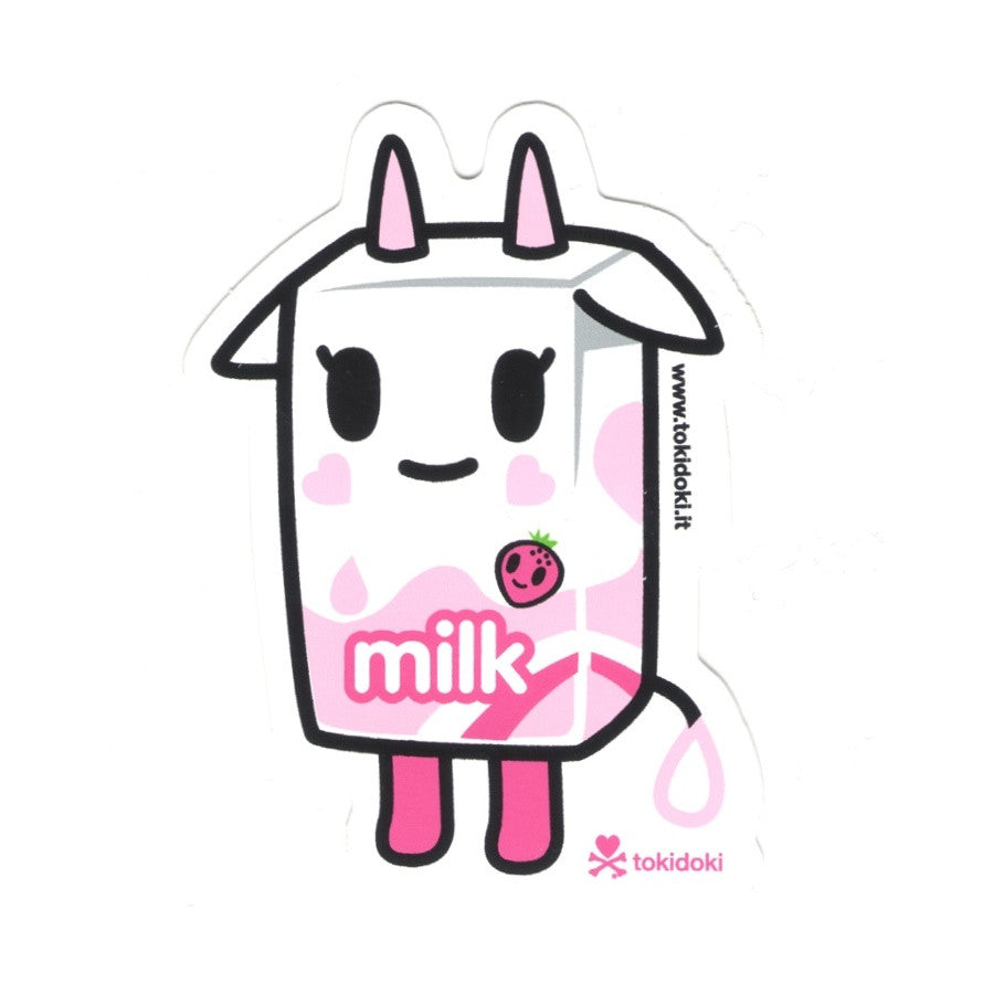Strawberry Milk - tokidoki Sticker
