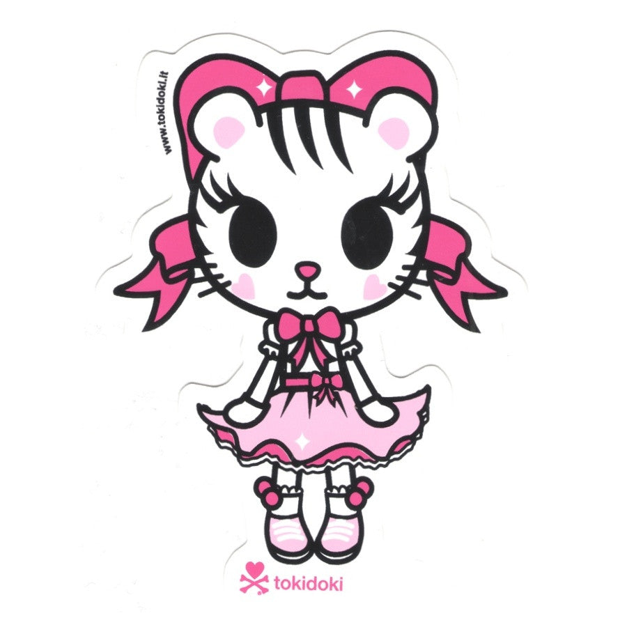 Tiger Bow - tokidoki Sticker