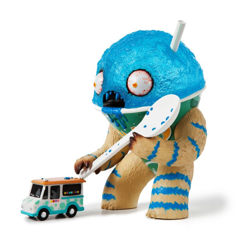 The Abominable Snow Cone by Jason Limon - Blueberry