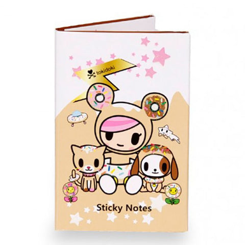 Donutella and Friends Sticky Notebook