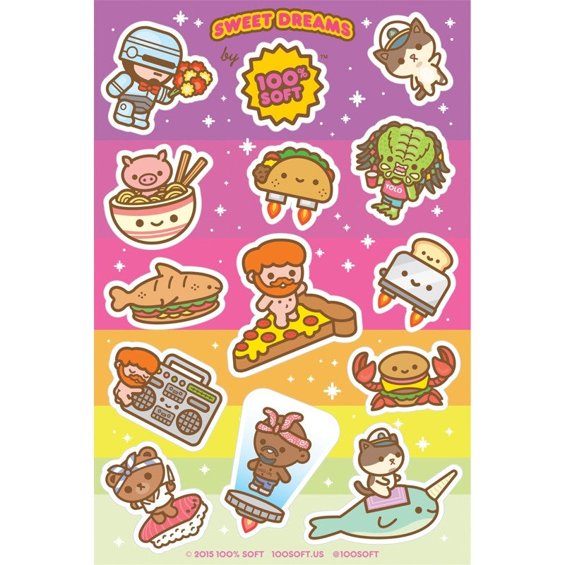 Sweet Dreams Sticker Sheet