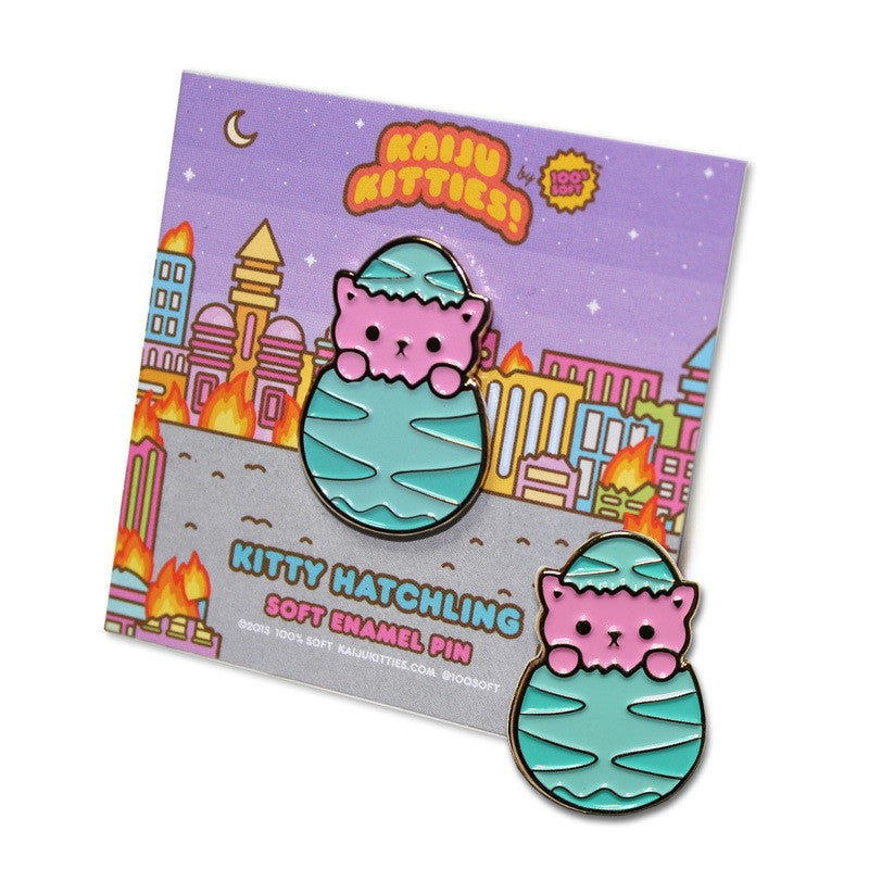 Kitty Hatchling Soft Enamel Pin