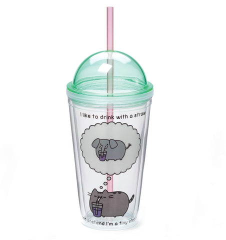 Pusheen 16 oz Tumbler