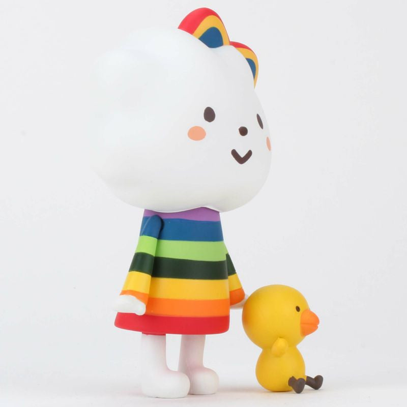 Miss Rainbow & Chicky Vinyl by Fluffy House