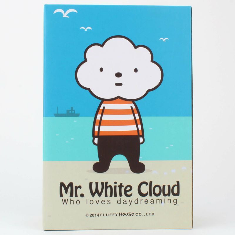 Mr. White Cloud Vinyl by Fluffy House
