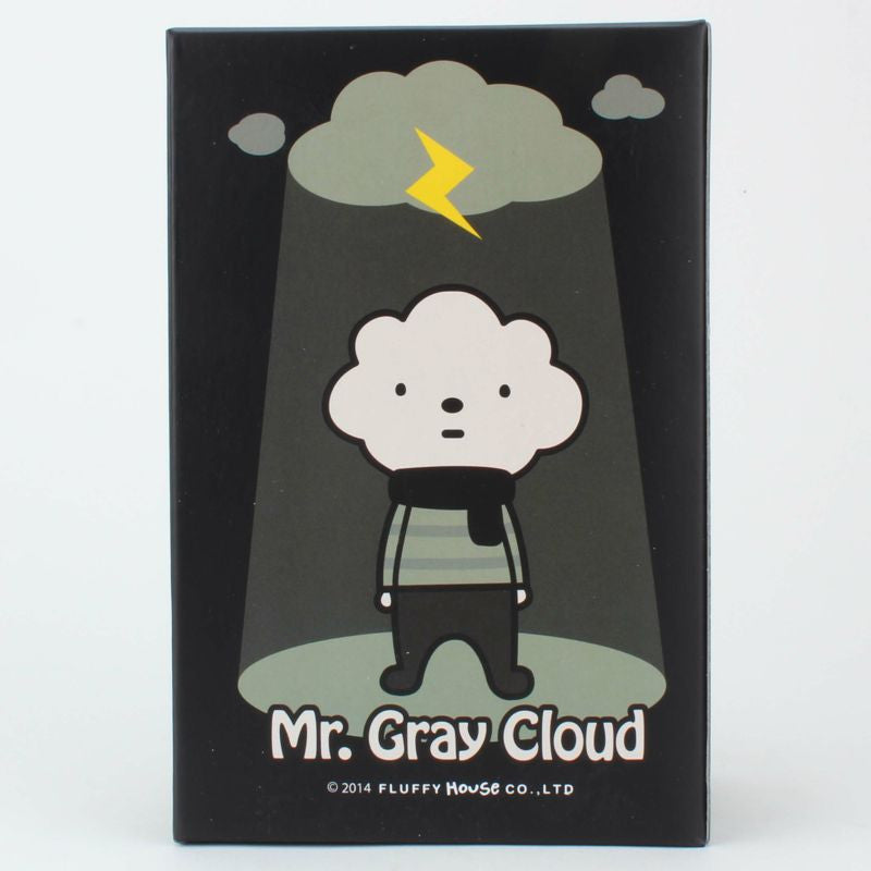Mr. Gray Cloud Vinyl by Fluffy House