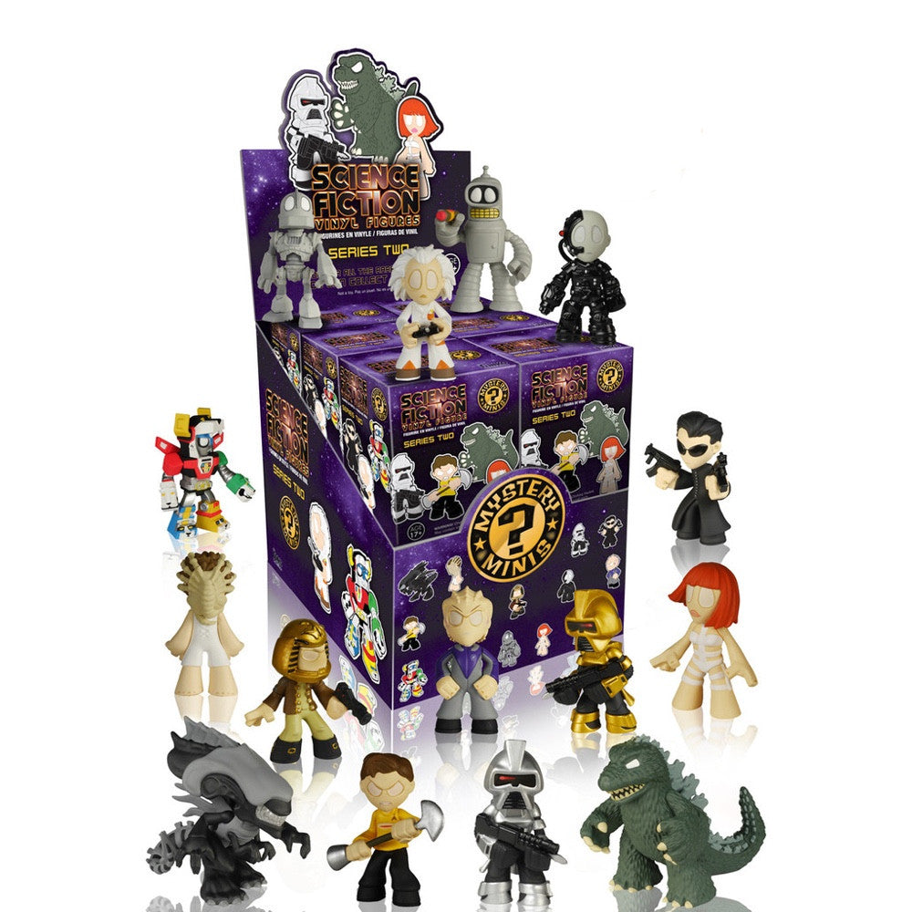 Science Fiction Series 2 Mystery Minis - Single Blind Box