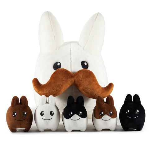 Stache Labbit - 24 inch Plush w/ 5 Littons