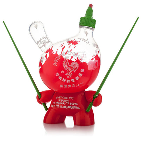 Sketracha Dunny (Clear) 8-inch by Sket One