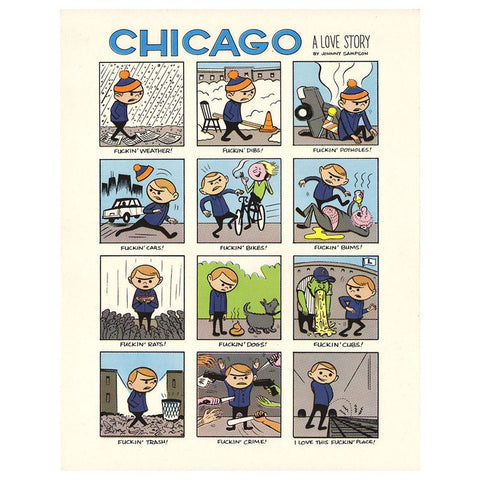 Chicago: A Love Story – Greeting Card