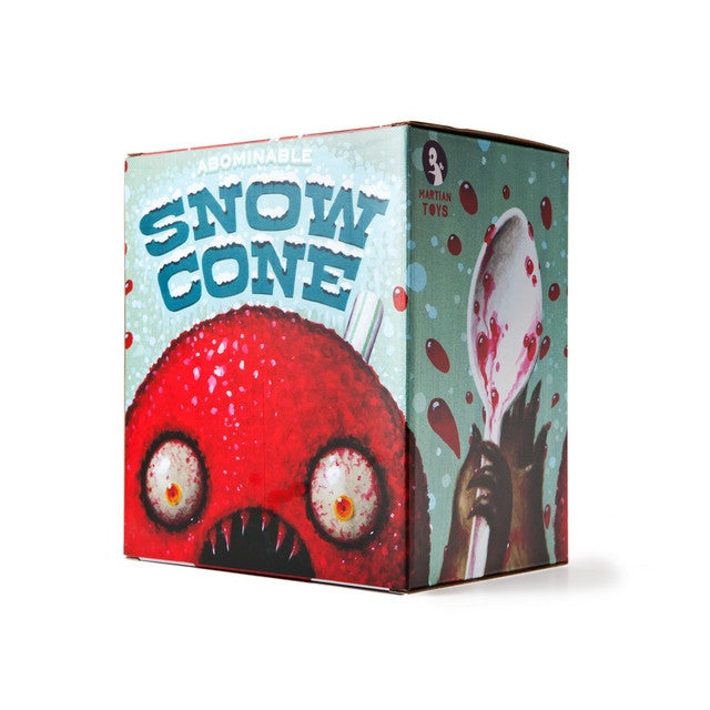 The Abominable Snow Cone by Jason Limon - Rainbow