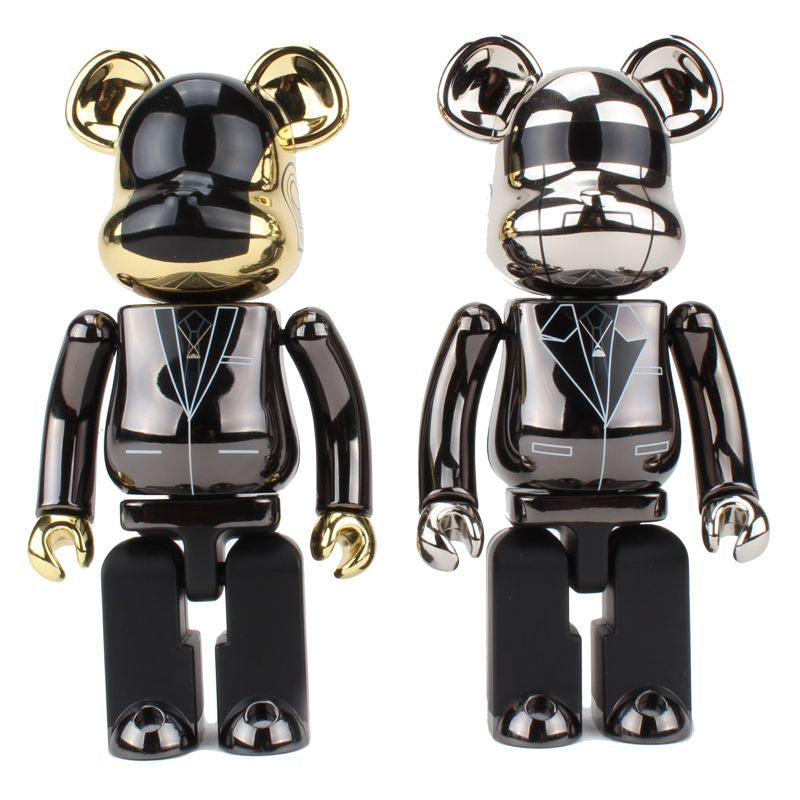 200% Super Alloyed Daft Punk Be@rbricks