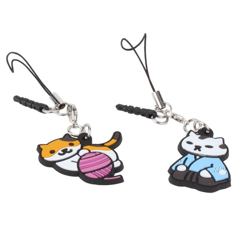 Neko Atsume - Zipper-Pull/Phone Charm - Random Assortment