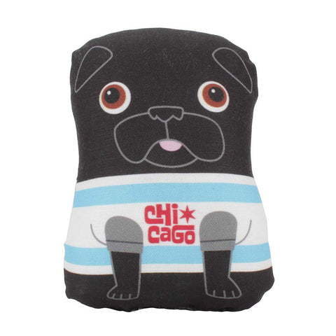 Buddy The Chicago Pug - Small Plush
