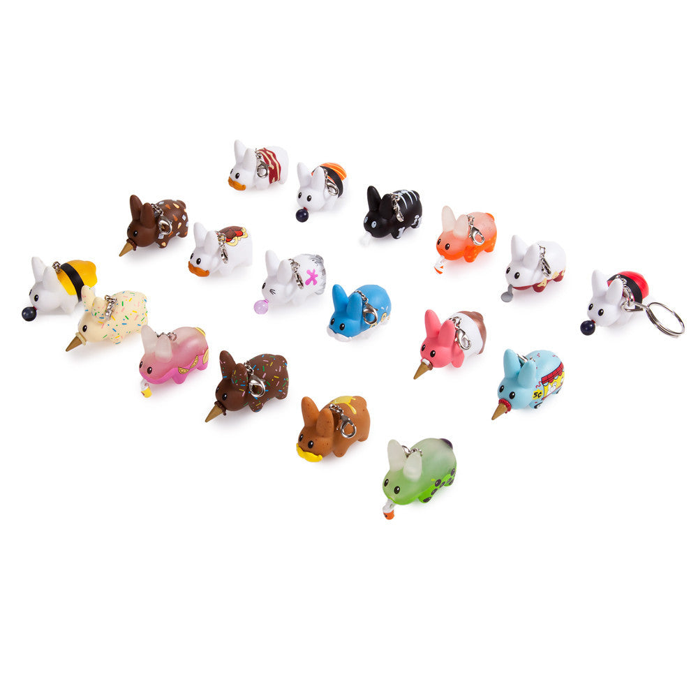 Bite Sized Labbit Keychains Series