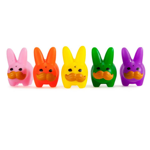 Mini 'Stache Labbit Pride 5-Pack