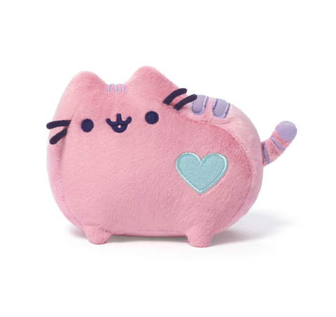 Mini Pusheen Pastel Pink Plush - 6 Inches