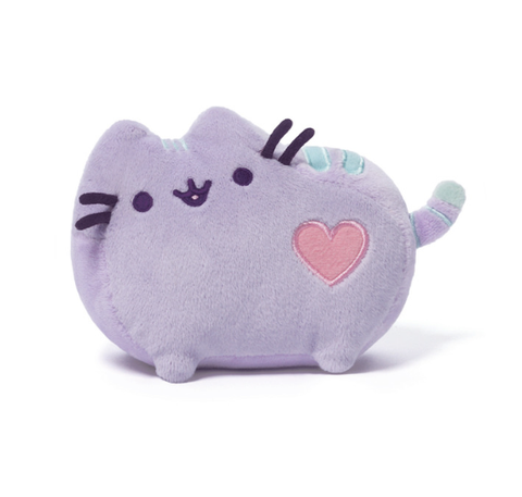 Mini Pusheen Pastel Purple Plush - 6 Inches